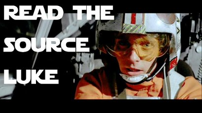Read the source, Luke